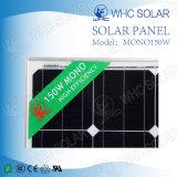 Panneaux solaires 18V150W mono avec du ce de TUV pour le système léger solaire