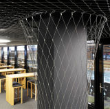 Reticolato di sicurezza decorativo di Anti-Goccia della rete della corda dell'acciaio inossidabile di protezione