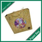 Personalizada la bolsa de papel de regalo con la venta al por mayor de la manija