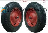 손수레 (3.50-8)를 위한 Wear-Resistant 압축 공기를 넣은 고무 바퀴