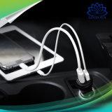 Два порта USB автомобильное зарядное устройство Quick Charger 2.0 3.0 мобильный телефон Car-Charger переходник для iPhone 7 Samsung Xiaomi Радиотелефон зарядное устройство