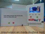 """Het aangepaste Video Visitekaartje van 4.3 """" LCD kan Telefoongesprek maken"""