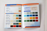 Scheda di colore della vernice della parete del materiale da costruzione
