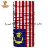 カスタムマルチ目的の国旗の多機能の継ぎ目が無いバンダナ