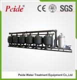 Filtre moyen peu profond en acier au carbone pour traitement industriel de l'eau