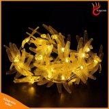 太陽クリスマスの照明30のLEDの太陽トンボ妖精ストリングライト