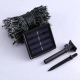 옥외를 위한 200의 LED 8 최빈값 태양 요전같은 끈 빛, 정원 LED 끈 태양 빛