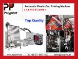 Machine van de Druk van de Kop van de gebogen Oppervlakte de Plastic