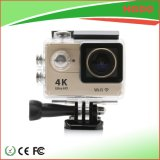 Hgdo Water Resistant WiFi 4k Sprot Camera com grande angular