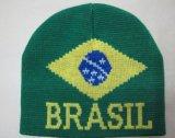 Single Jersey mecanismos Jacquard Hat tear