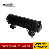 "12"" 72W ATV Offroad Barra de luz LED"