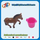 Het in het groot Mini Dierlijke Stuk speelgoed van het Paard met Emmer voor Jonge geitjes
