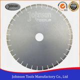 OD500 mm soldada con láser en silencio la hoja de sierra de corte de Granito