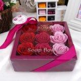 Flor artificial da flor relativa à promoção de Rosa do sabão