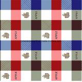 100%Polyester Apple Plaid Pigment&Disperse druckte Gewebe für Bettwäsche-Set