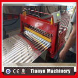 Rodillo de acero del azulejo de azotea del metal de Gavanized del color que forma la máquina