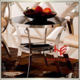 Da mobília de canto do hotel da mobília da HOME da mobília do aço inoxidável da tabela da mesa de centro (RS161304) tabela moderna do lado da tabela de chá da tabela de console da tabela da mobília