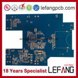 Placa de circuito Multilayer do PWB do instrumento Tg170 médico com solda azul
