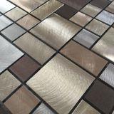 Nuevo Preminum Cobre Resina Metal Acero Inoxidable Backsplash Tile Mosaico
