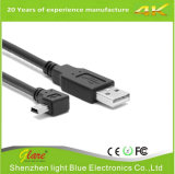 Ângulo direito 2um micro-cabo de carregamento USB