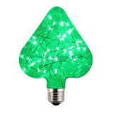 Tipo decorativo bombilla e26/27 de la lámpara del alambre de la cadena de la venta caliente