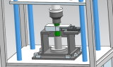 Máquina plástica de la soldadura por fricción de la filtración del agua