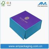Коробка книга в твердой обложке верхнего сегмента изготовленный на заказ роскошного твердого картона бумажная упаковывая