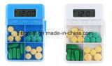 Коробка пилек таблетки карманного миниого электронного сигнала тревога отметчика времени микстуры памятки миниая