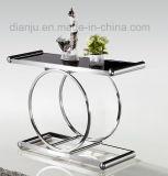 Tabella moderna del quadrato di disegno semplice della mobilia dell'acciaio inossidabile (X808)