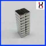 Magneet van het Neodymium van de Zeldzame aarde van het blok N48 de Permanente