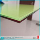 En verre feuilleté de couleur avec la certification de qualité