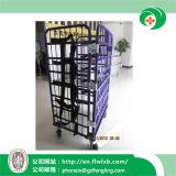 Acero plegable Logística de jaulas para el almacenamiento de mercancías con Ce (FL-71)