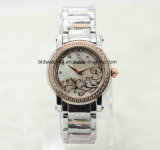 Nuevo reloj de señora Bracelet Watches Sexy Women de la manera 2017 con el diamante