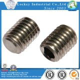 Hex Socket Set Screws Flat Point Ponto Oval Half Dog Point Ponto do copo ponto Cone
