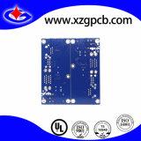 4 de la iniciativa de la capa de circuito impreso PCB con azul Color Soldermask