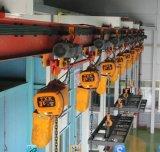 Élévateur à chaînes électrique de 1 tonne avec le chariot de déplacement
