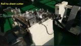 Rodillo automático a la cortadora de hoja para la espuma, película, cinta industrial
