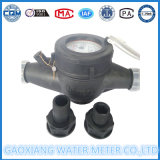 Mètre d'eau mécanique de gicleur multi sec de cadran