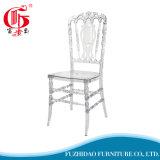 Самомоднейший напольный прозрачный стул смолаы венчания