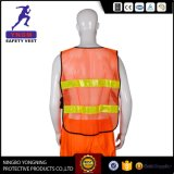 Het hoge Vest En20471 van het Kledingstuk van de Veiligheid van Workwear van het Zicht Weerspiegelende