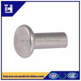 Flacher hohler Enden-Aluminiumhauptniet