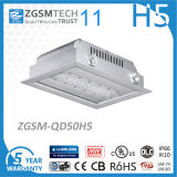 Embedded 50W LED Canopy Light 120lm/W Philips SMD 3030 Chip
