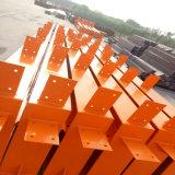 Prueba de viento impermeable y almacén de la estructura de acero corrugado