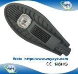 Lámpara del camino de la MAZORCA luz/100W de calle de la MAZORCA 100W LED del precio de fábrica de Yaye 18 Ce/RoHS/LED con USD52.5/PC