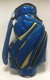 DIY Logo PU Leather ou saco de golfe 600d
