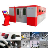 Máquina de estaca do laser do aço inoxidável do CNC com o servo motor de Japão