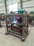 Machine manuelle de bloc concret de prix usine Qt40-2, bloc de la colle faisant la machine à vendre