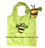 Bolsas de supermercado ligero plegable práctica bolsa de compras con estilo abeja Bolsa 3D.