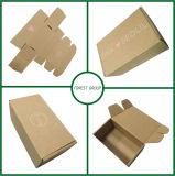 Изготовленный на заказ коробка Brown печатание гофрированная Kraft пересылая для перевозкы груза