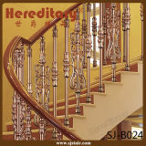 Декоративный Railing алюминия отливки поручня лестницы виллы для дома (SJ-B001)